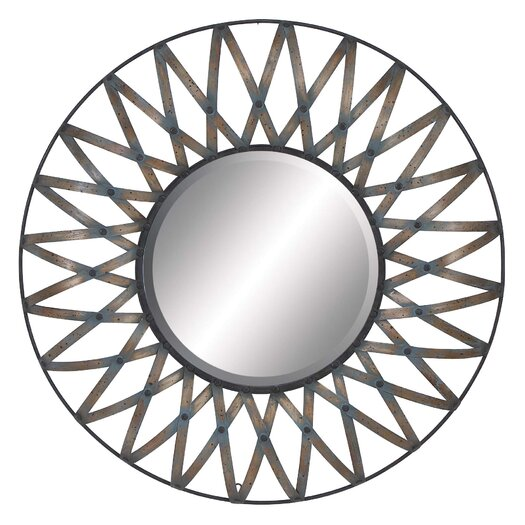 Woodland Imports Round Wall Mirror