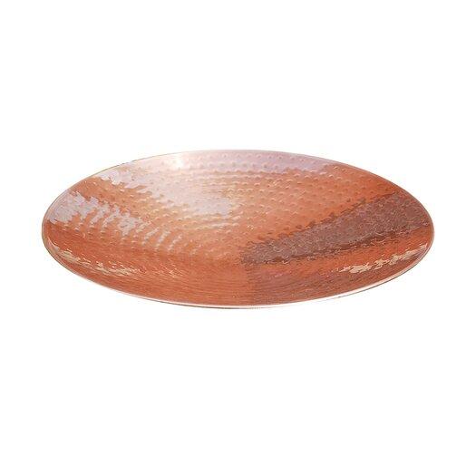 ACHLA Polished Copper Birdbath