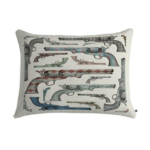 DENY Designs Belle13 Vintage Pistols Pet Bed