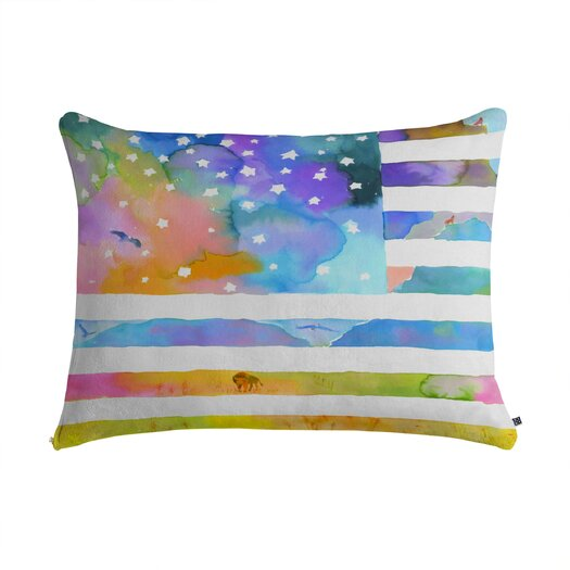 DENY Designs Betsy Olmsted Old Glory Oh Beautiful Pet Bed