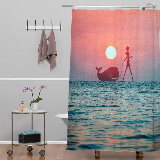 DENY Designs Belle 13 Fancy Pet Shower Curtain