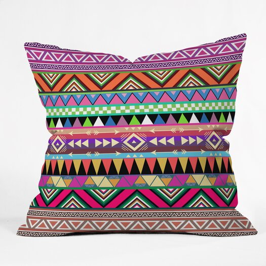DENY Designs Bianca Green Overdose Throw Pillow