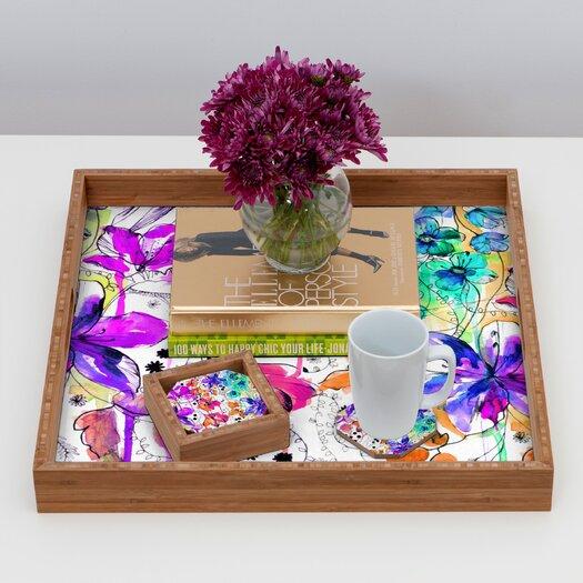 DENY Designs Holly Sharpe Lost in Botanica 1 Coaster