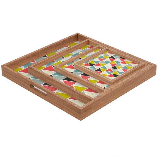 DENY Designs Heather Dutton Triangulum Square Tray
