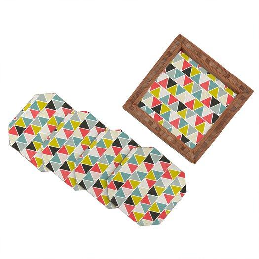 DENY Designs Heather Dutton Triangulum Coaster