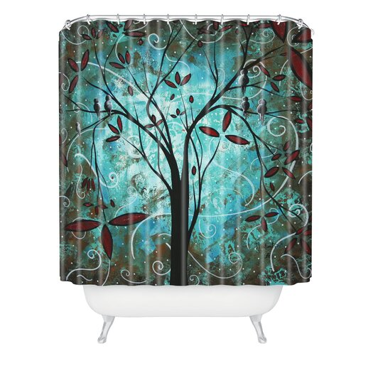 DENY Designs Madart Inc Romantic Evening Shower Curtain