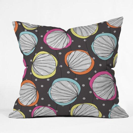 DENY Designs Rachael Taylor Scribble Shells Throw Pillow