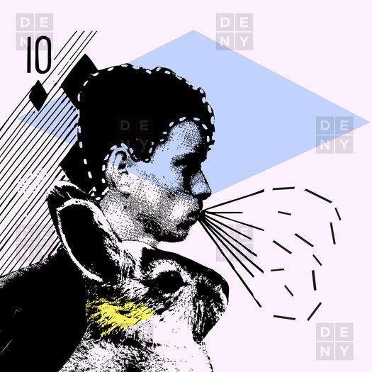 DENY Designs Randi Antonsen Poster Hero 1 Shower Curtain
