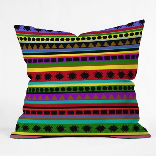 DENY Designs Romi Vega Heavy Pattern Throw Pillow