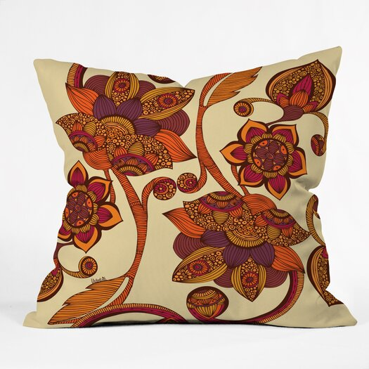 DENY Designs Valentina Ramos Boho Flowers Indoor/Outdoor Throw Pillow
