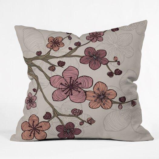 DENY Designs Valentina Ramos Blossom Indoor/Outdoor Throw Pillow