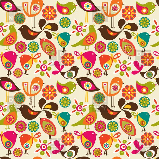 DENY Designs Valentina Ramos Little Birds Shower Curtain