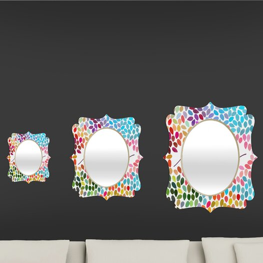 DENY Designs Garima Dhawan Dots Imagine 1 Quatrefoil Mirror