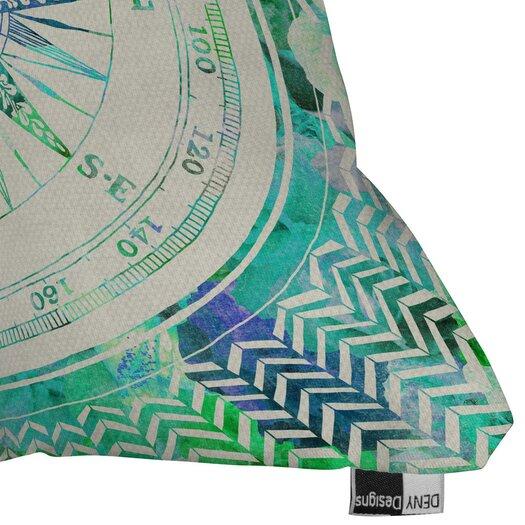 DENY Designs Bianca Green Throw Pillow