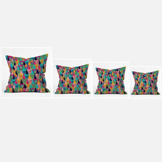 DENY Designs Vy La Love Birds 1 Throw Pillow