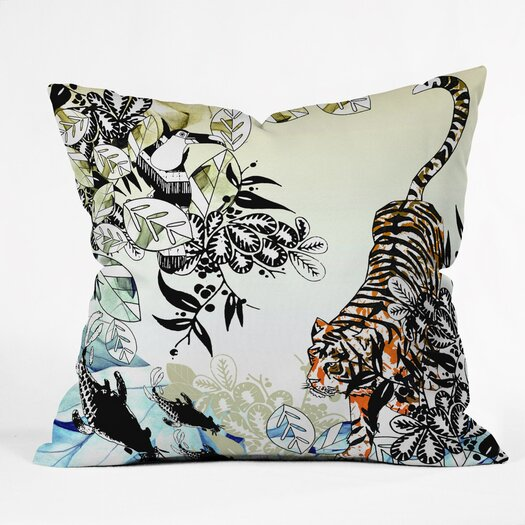 DENY Designs Aimee St Hill Tiger Throw Pillow