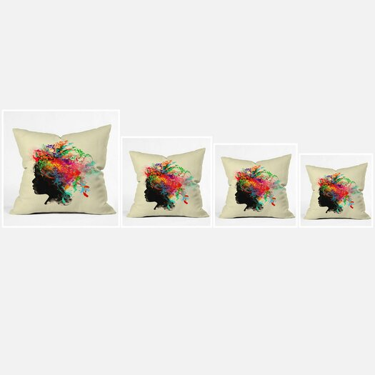 DENY Designs Budi Kwan Wildchild Throw Pillow