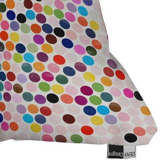 DENY Designs Garima Dhawan Dots Dance Throw Pillow