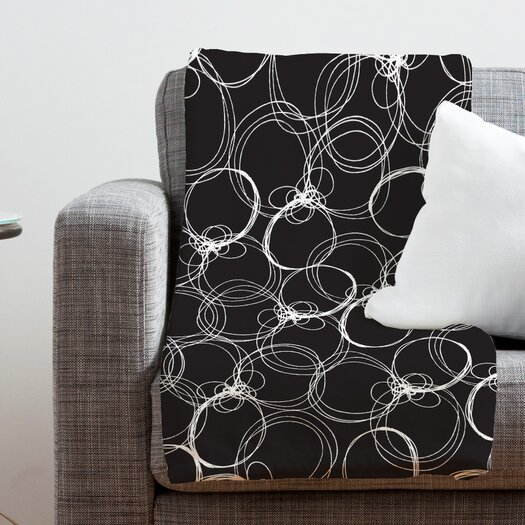 DENY Designs Rachael Taylor Circles Throw Blanket
