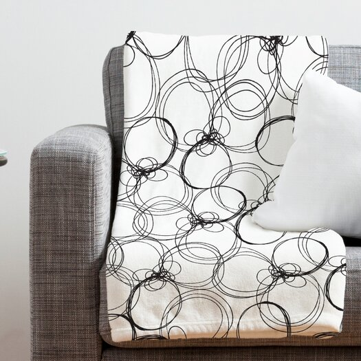 DENY Designs Rachael Taylor Circles Throw Blanket