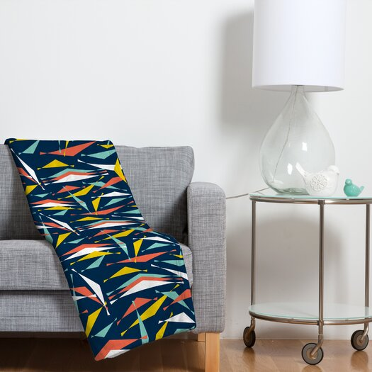 DENY Designs Heather Dutton Swizzlestick Party Girl Throw Blanket