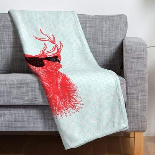 DENY Designs Nick Nelson Young Buck Throw Blanket