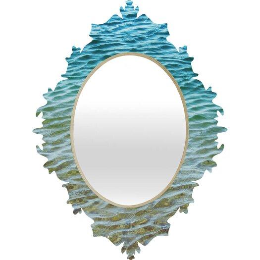 DENY Designs Shannon Clark Ombre Sea Baroque Wall Mirror