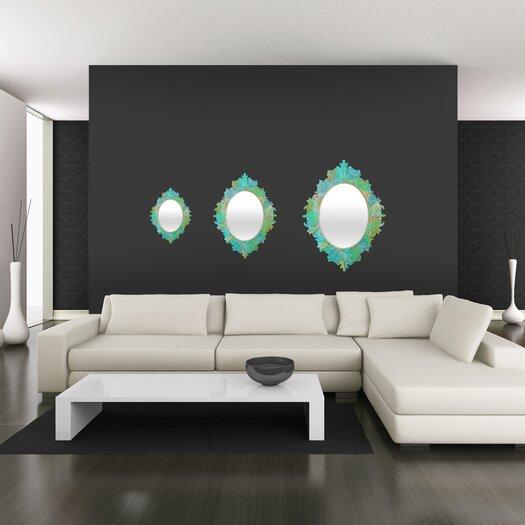 DENY Designs Stephanie Corfee Secret Garden Baroque Mirror