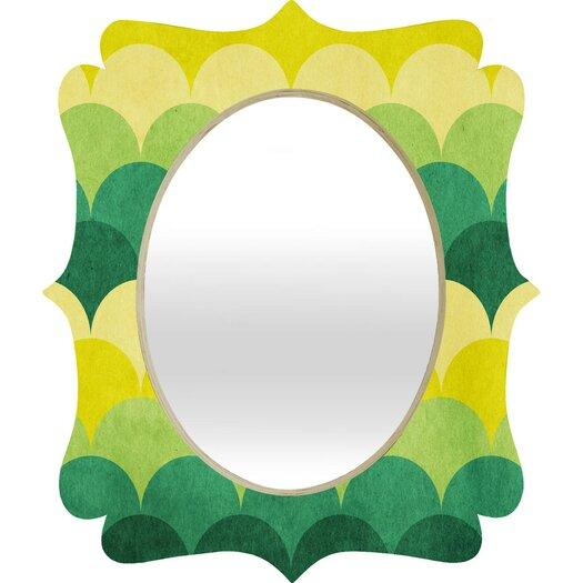 DENY Designs Arcturus Scales Quatrefoil Wall Mirror