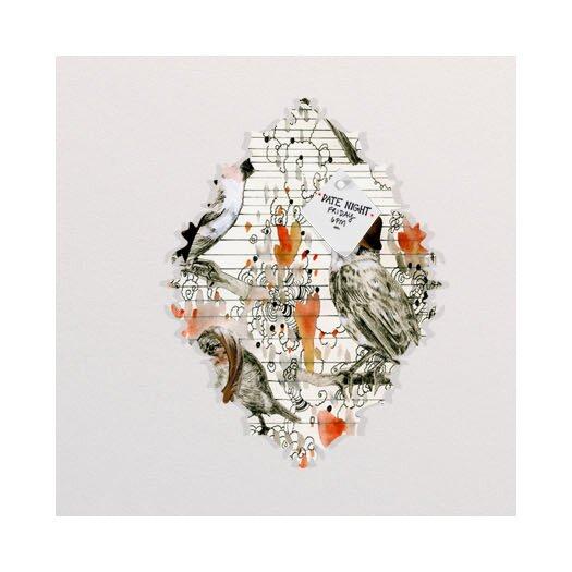 DENY Designs Randi Antonsen Love Birds Memo Board