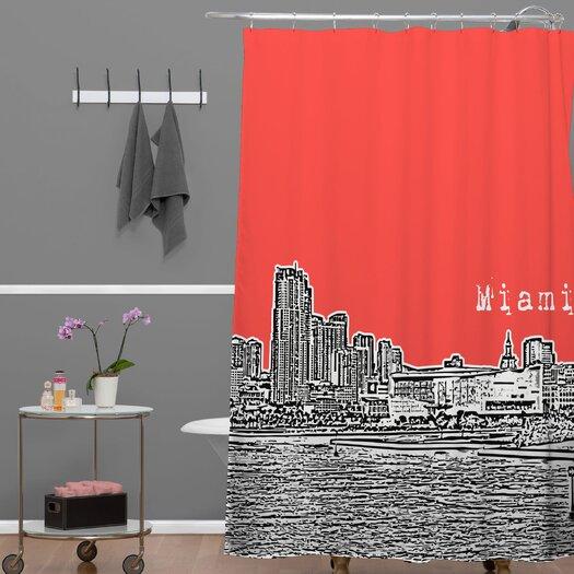 DENY Designs Bird Ave Miami Shower Curtain