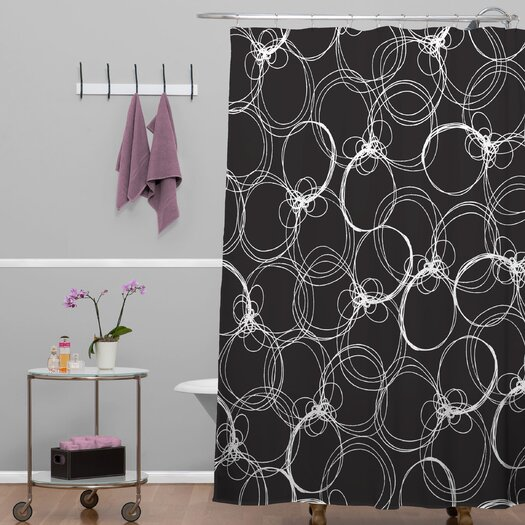 DENY Designs Rachael Taylor Circles Shower Curtain
