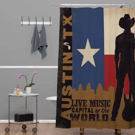 DENY Designs Anderson Design Group Austin Shower Curtain