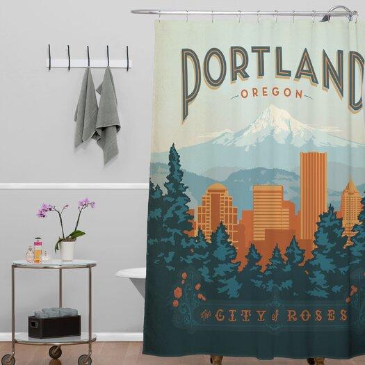 DENY Designs Anderson Design Group Portland Shower Curtain