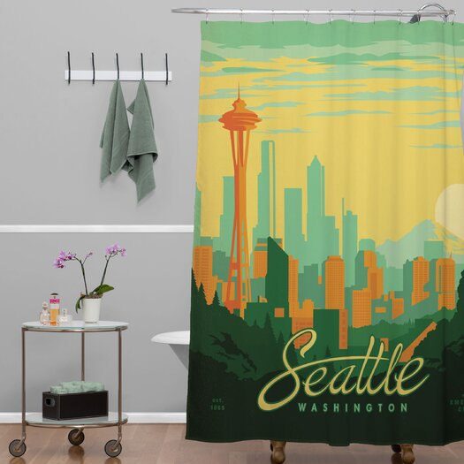 DENY Designs Anderson Design Group Seattle Shower Curtain