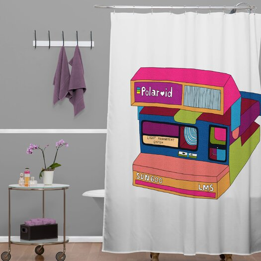 DENY Designs Bianca Green Captures Great Moments Shower Curtain