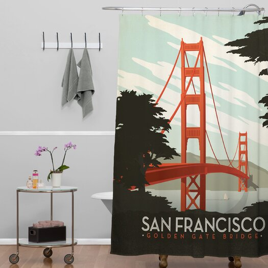 DENY Designs Anderson Design Group San Francisco Shower Curtain