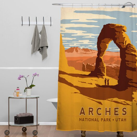 DENY Designs Anderson Design Group Arches Shower Curtain