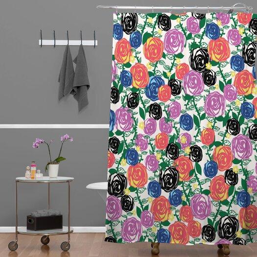 DENY Designs Khristian A Howell Valencia 5 Shower Curtain