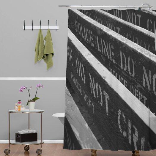 DENY Designs Leonidas Oxby 7 Chances Do Ya Feel Lucky Shower Curtain