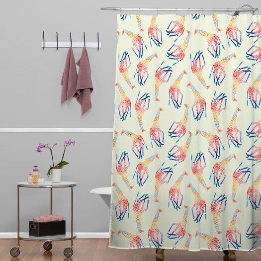 DENY Designs Jacqueline Maldonado Giraffe Shower Curtain
