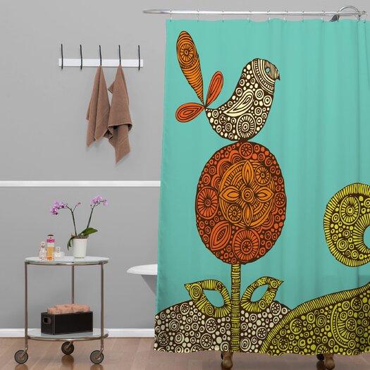 DENY Designs Valentina Ramos Bird in The Flower Shower Curtain