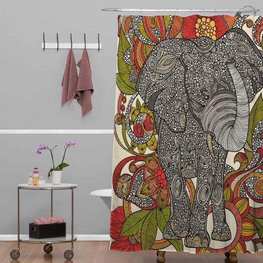 DENY Designs Valentina Ramos Bo The Elephant Shower Curtain