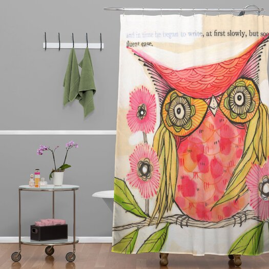 DENY Designs Cori Dantini Miss Goldie Shower Curtain