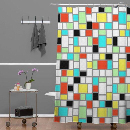 DENY Designs Jacqueline Maldonado Geo Shower Curtain