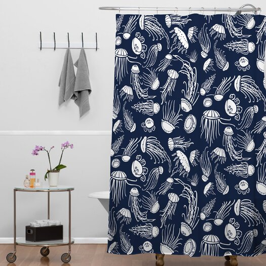 DENY Designs Jennifer Denty Jellyfish Shower Curtain