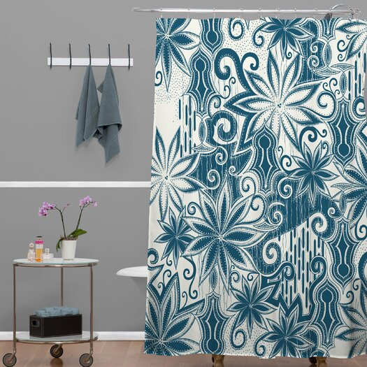 DENY Designs Khristian A Howell Moroccan Mirage 1 Shower Curtain