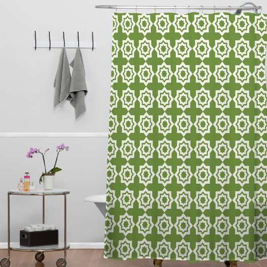 DENY Designs Khristian A Howell Moroccan Mirage Shower Curtain