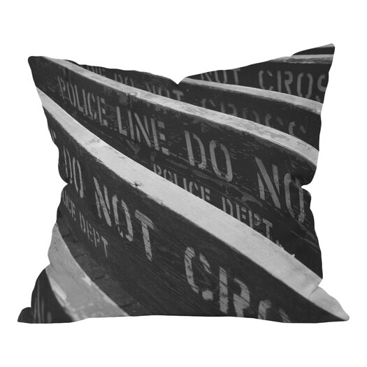 DENY Designs Leonidas Oxby 7 Chances Do Ya Feel Lucky Throw Pillow