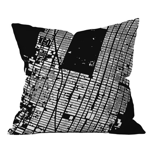 DENY Designs CityFabric Inc. NYC Midtown Throw Pillow